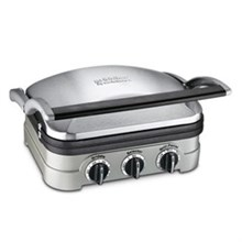 Electric Grill cuisinart gr 4n