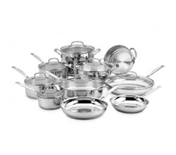 Cuisinart Cooking Sets  15 to 17 Piece Sets cuisinart 77 17n