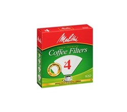 Filters  melitta bamboo cone square box 62444