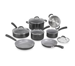 Cuisinart Cooking Sets  9 to 11 Piece Sets cuisinart nonstick cookware set   11pc