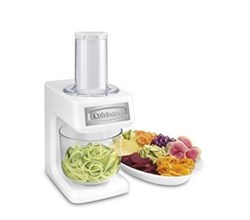 Chopper cuisinart prepexpress slicer, shredder and spiralizer