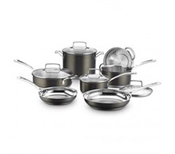 Cooking Sets cuisinart black stainless collection 11 piece set