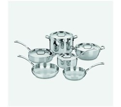 Cooking Sets cuisinart french classic tri ply stainless cookware 10 piece set