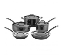 Cooking Sets cuisinart mica shine stainless steel 8 piece set